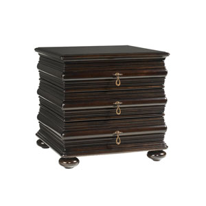 Royal Kahala Mahogany Black Sands Lamp Table