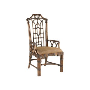 Royal Kahala Gold Pacific Rim Arm Chair