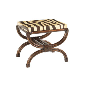 Royal Kahala Gold Striped Delight Accent Table