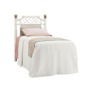 Ivory Key White Pritchards Bay Twin Panel Headboard