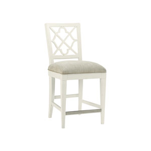 Ivory Key White Newstead Counter Stool