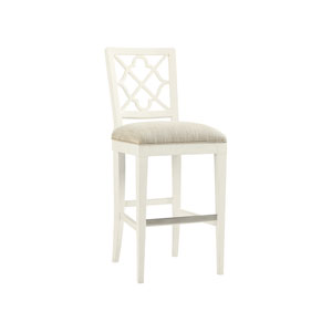 Ivory Key White Newstead Bar Stool