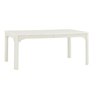 Ivory Key White Castel Harbour Rectangular Dining Table