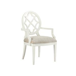 Ivory Key White Mill Creek Arm Chair