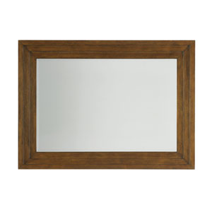 Island Fusion Brown Luzon Landscape Mirror