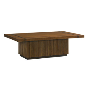 Island Fusion Brown Castaway Rectangular Cocktail Table