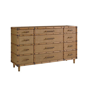 Twin Palms Brown Windward Dresser