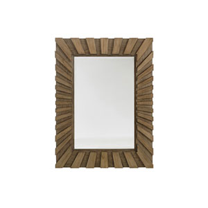 Cypress Point Brown Ardley Sunburst Mirror