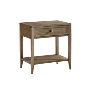 Cypress Point Brown Stevenson Open Nightstand