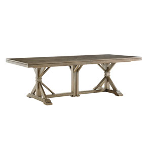 Cypress Point Brown Pierpoint Double Pedestal Dining Table