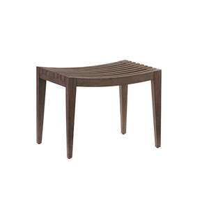 Cypress Point Brown Pelham Bed Bench