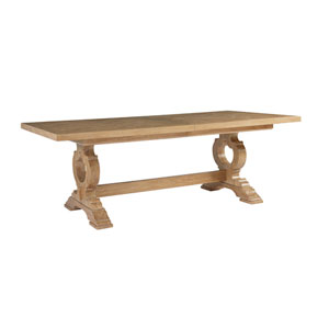 Los Altos Brown Farmington Rectangular Dining Table