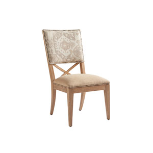 Los Altos Gold and Gray Alderman Upholstered Side Chair
