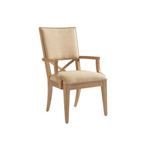Los Altos Gold Alderman Upholstered Arm Chair