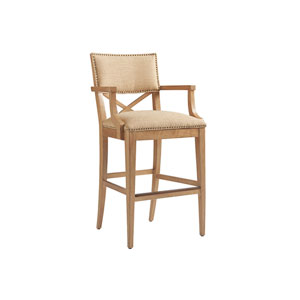Los Altos Gold Sutherland Upholstered Bar Stool