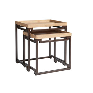 Los Altos Brown Dolca Vita Nesting Tables