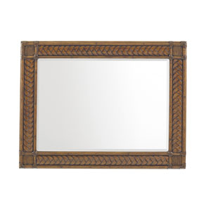 Bali Hai Brown Sunrise Landscape Mirror