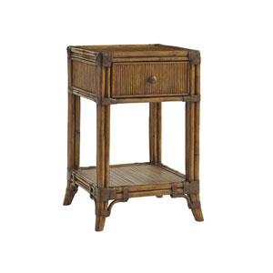 Bali Hai Brown Del Sol Bedside Table
