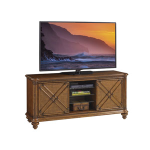 Bali Hai Brown Marlin Media Console