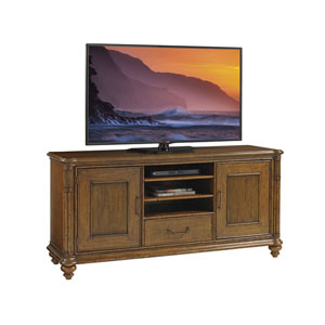 Bali Hai Brown Pelican Cay Media Console