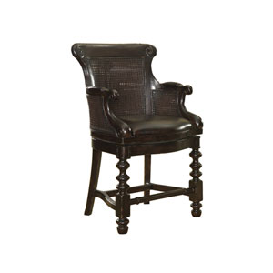 Kingstown Tamarind Dunkirk Swivel Counter Stool