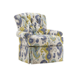 Ivory Key Multicolor Long Bay Chair