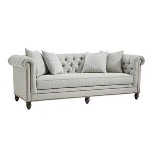 Tommy Bahama Upholstery Gray Manchester Sofa