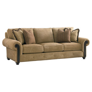 Tommy Bahama Upholstery Tan Riversdale Sofa