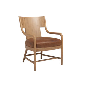 Los Altos Brown Radford Leather Chair