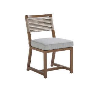 St Tropez Natural Teak Side Dining Chair