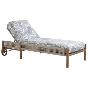 St Tropez Natural Teak Chaise Lounge