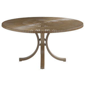 St Tropez Natural Teak Round Dining Table
