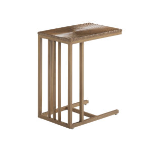 St Tropez Natural Teak Rectangular End Table