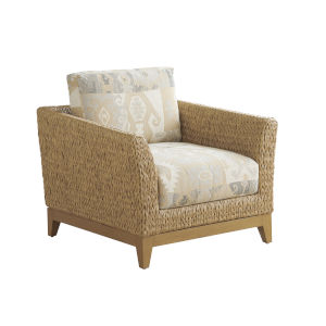 Los Altos Valley View Brown Lounge Chair