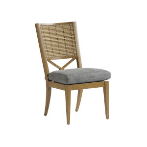 Los Altos Valley View Brown and Gray Side Dining Chair