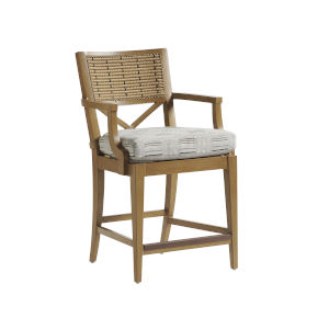 Los Altos Valley View Brown 24-Inch Counter Stool