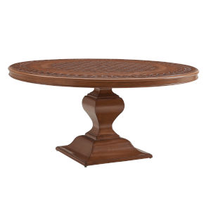 Harbor Isle Brown Round Dining Table