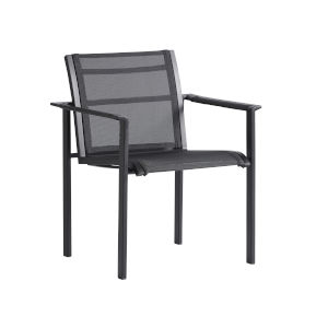South Beach Dark Graphite Dining Chair
