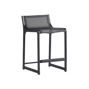 South Beach Dark Graphite 25-Inch Counter Stool