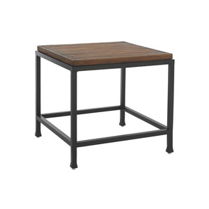 Ocean Club Pacifica Black and Brown Side Table