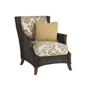 Island Estate Lanai Brown and Gold Lounge Chair