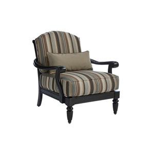 Kingstown Sedona Ebony and Beige Lounge Chair