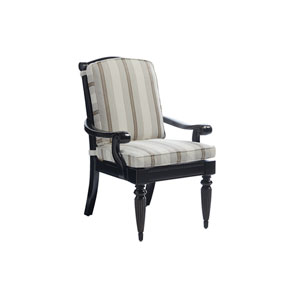 Kingstown Sedona Ebony and Ivory Dining Arm Chair