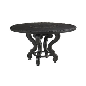Kingstown Sedona Ebony 54 In. Dining Table with Cast Top