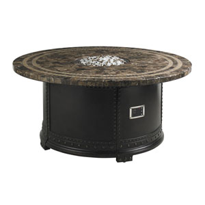 Kingstown Sedona Ebony and Brown Fire Pit
