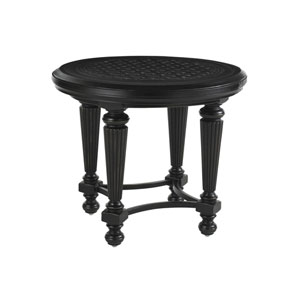 Kingstown Sedona Ebony Round End Table