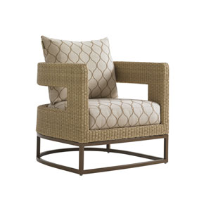 Aviano Mocha and Ivory Chair