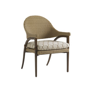 Aviano Mocha and Ivory Dining Chair