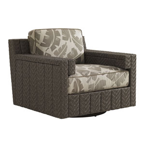 Blue Olive Brown Lounge Chair