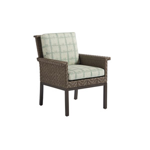 Blue Olive Brown and Green Dining Chair